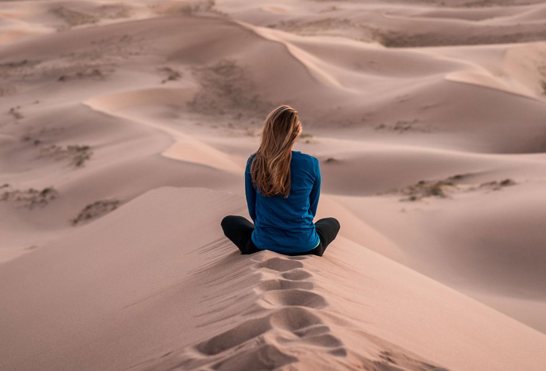 Девочка и пустыня. Пролог