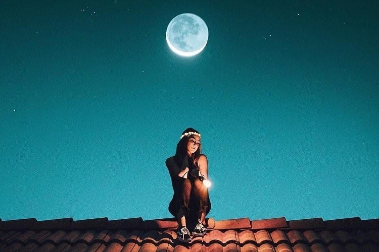 Я сижу на крыше