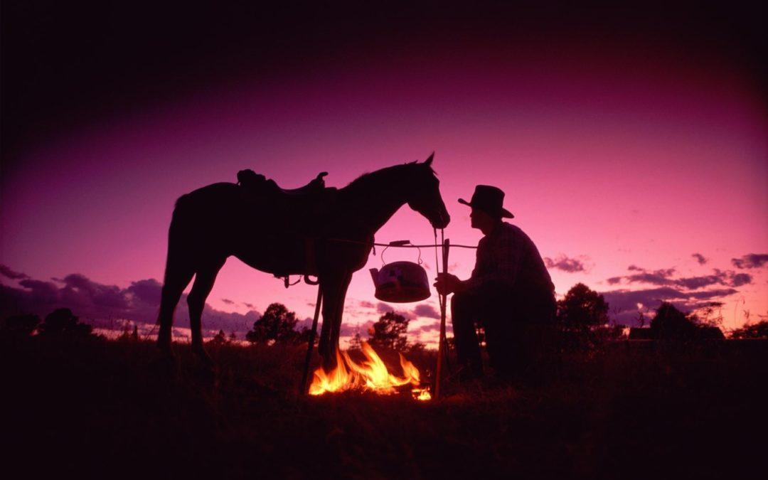 Козерог. Лошадь и сундук